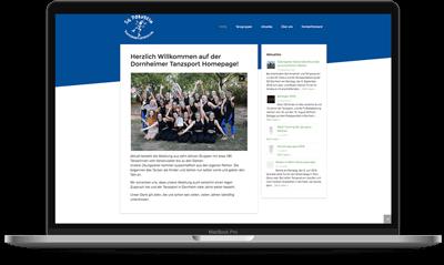 Dornheim Tanzsport Website - Voll Webdesign & SEO